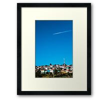 At The Sky Framed Print