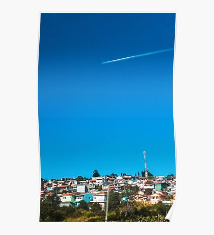At The Sky Poster