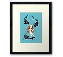 Underwater 2 Framed Print