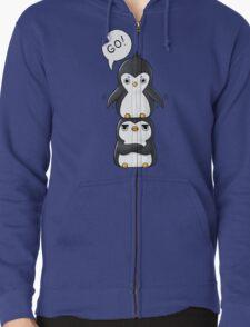 Penguins Zipped Hoodie
