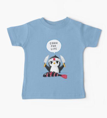 Penguin Chef Baby Tee