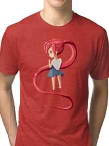 Ponytail Tri-blend T-Shirt