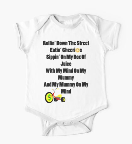 Mind on my Mummy Baby funny One Piece - Short Sleeve