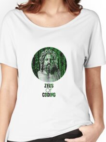 ZEUS OF CODING Women's Relaxed Fit T-Shirt