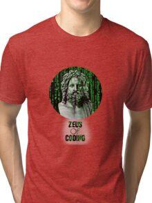ZEUS OF CODING Tri-blend T-Shirt
