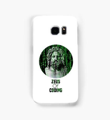 ZEUS OF CODING Samsung Galaxy Case/Skin