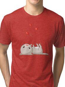 Playing Kitten Tri-blend T-Shirt