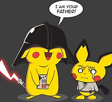 PikaVader Strikes Back! by fncworks