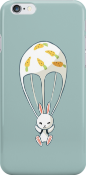 Parachute Bunny by freeminds
