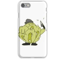 Cabbage Thief iPhone Case/Skin