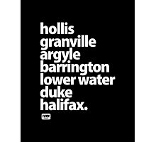 Halifax Nova Scotia - Downtown Photographic Print