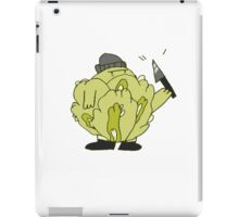 Cabbage Thief iPad Case/Skin