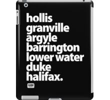 Halifax Nova Scotia - Downtown iPad Case/Skin