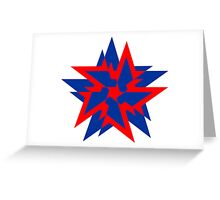 STAR BREAKER Greeting Card