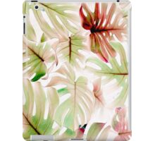 Monstera pastel iPad Case/Skin