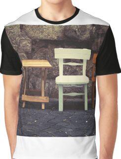 Cafe Life Croatia Style Graphic T-Shirt