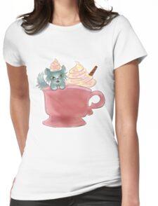 Vanilla Sprinkles Kitten  Womens Fitted T-Shirt
