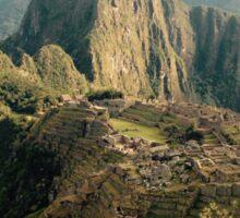Machu Picchu Sunrise Sticker