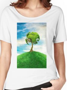 World Tree Women's Relaxed Fit T-Shirt
