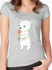 Polar Ice Cream Women's Fitted Scoop T-Shirt