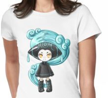 Water Sprite Womens Fitted T-Shirt