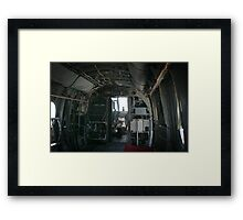 Old Helicopter Framed Print