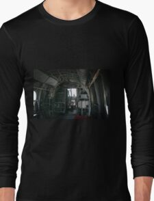 Old Helicopter Long Sleeve T-Shirt
