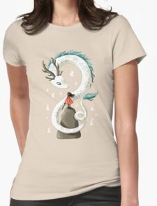 Dragon Spirit Womens Fitted T-Shirt
