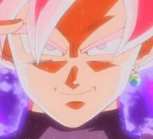 SUPER SAIYAN ROSE GOKU BLACK Sticker