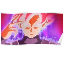 SUPER SAIYAN ROSE GOKU BLACK Poster