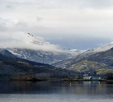 Loch Leven, Scotland by trish725
