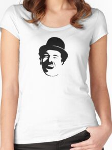 Charlie Chaplin Women's Fitted Scoop T-Shirt