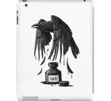 Ink Raven iPad Case/Skin