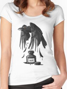 Ink Raven Women's Fitted Scoop T-Shirt