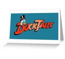 DUCKTALES LOGO Greeting Card