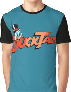 DUCKTALES LOGO Graphic T-Shirt