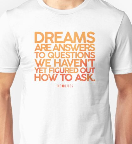 X-Files Dreams Unisex T-Shirt