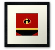 Superhero 005 Framed Print