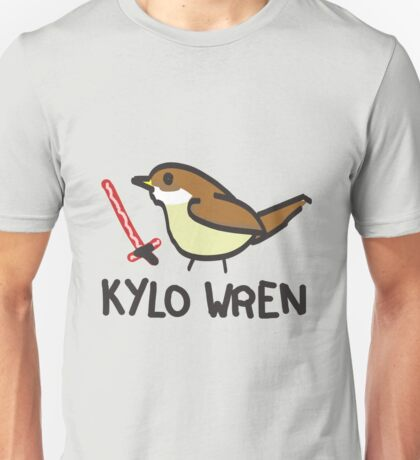 Kylo Wren - star wars visual pun design Unisex T-Shirt