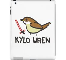 Kylo Wren - star wars visual pun design iPad Case/Skin