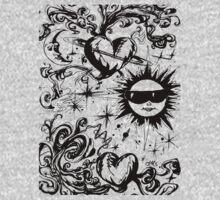 sun moon and stars T-Shirt