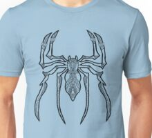 Web Spider - Complicated Spiders - Black line Unisex T-Shirt
