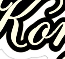 Korg  Instruments Vintage  Sticker