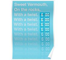 Sweet Vermouth Poster