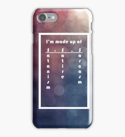 S.S.S iPhone Case/Skin