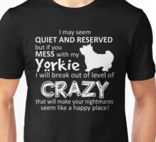 Yorkie funny - Yorkie shirt Unisex T-Shirt