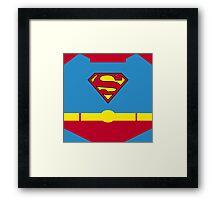 Superhero 006 Framed Print