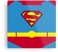 Superhero 006 Metal Print