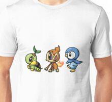 Pokemon - Diamond and Pearl Starter Unisex T-Shirt