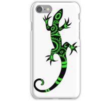lezard tribal vert iPhone Case/Skin